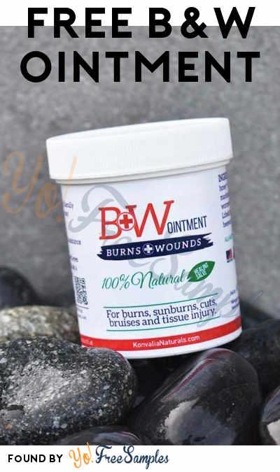 FREE B&W Ointment