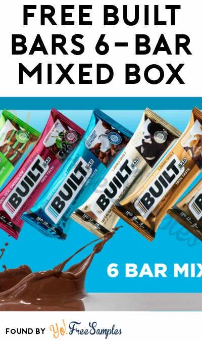 FREE Built Bars 6-Bar Mixed Box