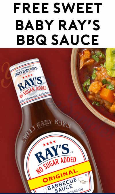 FREE Sweet Baby Ray's BBQ Sauce