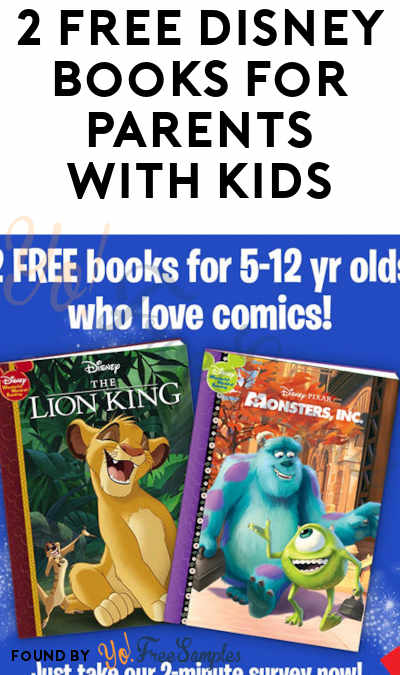 2 FREE Disney Books For Parents With Kids