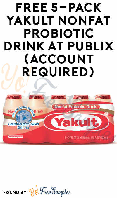 FREE 5-Pack Yakult Nonfat Probiotic Drink at Publix (Account Required)