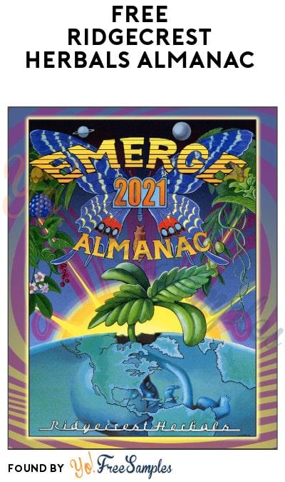 FREE RidgeCrest Herbals Almanac (Digital & Printed)