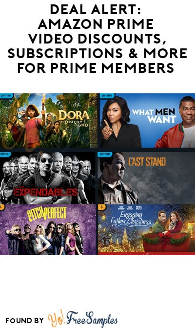 DEAL ALERT: Amazon Prime Video Discounts, Subscriptions & More for Prime Members