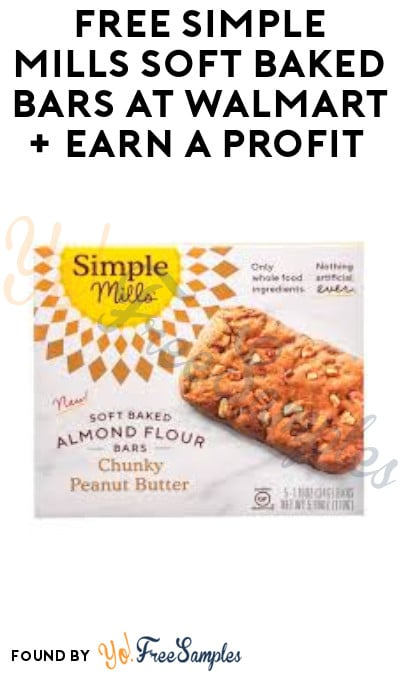 FREE Simple Mills Soft Baked Bars at Walmart + Earn A Profit (Ibotta Required)