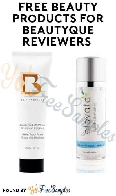 FREE Beauty Products for Beautyque Reviewers (Must Apply)