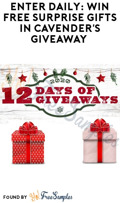 Enter Daily: Win FREE Surprise Gifts in Cavender's Giveaway