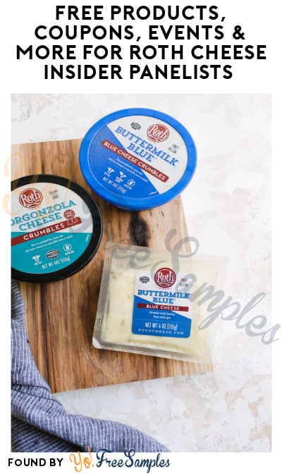 FREE Products, Coupons, Events & More for Roth Cheese Insider Panelists (Must Apply)