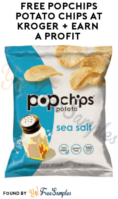 FREE Popchips Potato Chips at Kroger + Earn A Profit (Account/ Ibotta Required)