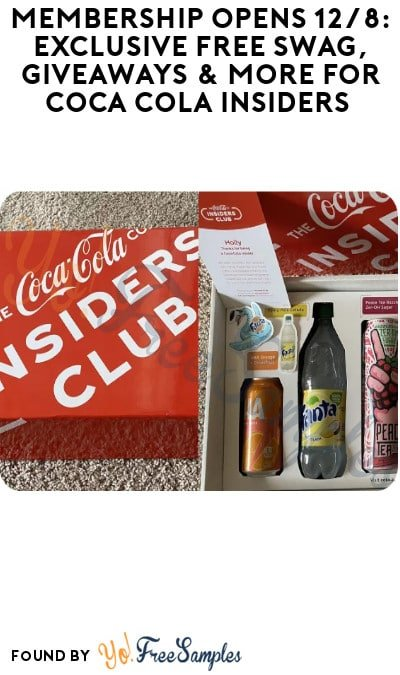 Exclusive FREE Swag Box With $45 Purchase Coca Cola Insiders