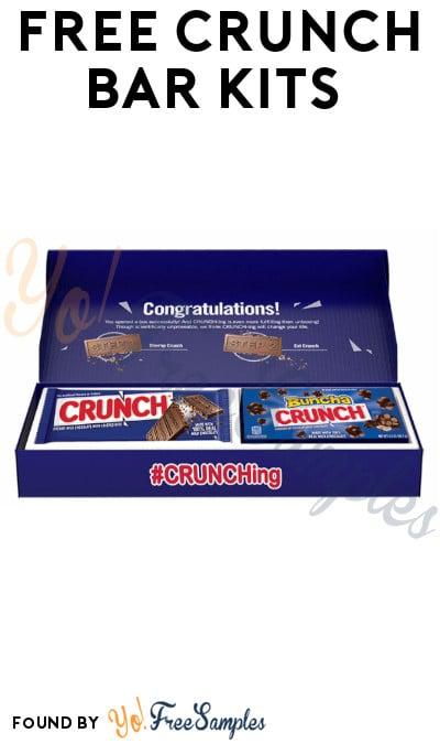 FREE Crunch Bar Kits via Twitter Fire Drills