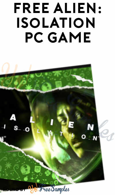 FREE Alien: Isolation PC Game From Epic Games (Account Required)
