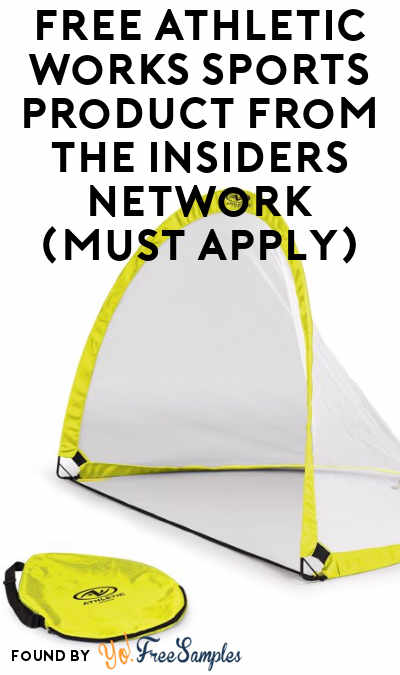 FREE Athletic Works Sports Product From The Insiders Network (Must Apply)