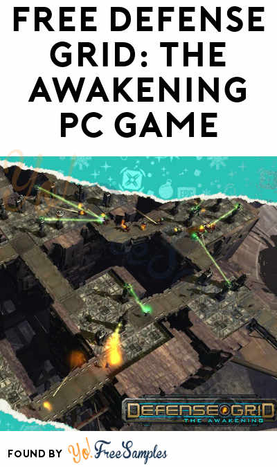 FREE Defense Grid: The Awakening PC Game From Epic Games (Account Required)