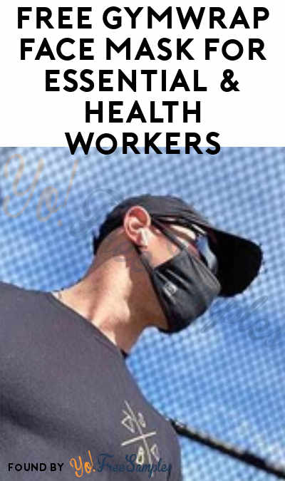 FREE GymWrap Face Mask For Essential & Health Workers