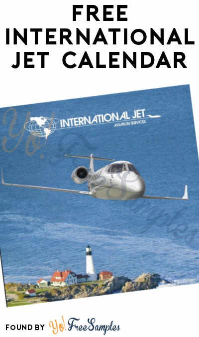FREE International Jet 2021 Calendar