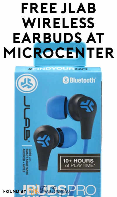 FREE JLab Wireless Earbuds at Microcenter (Coupon Required + In-Store Only)