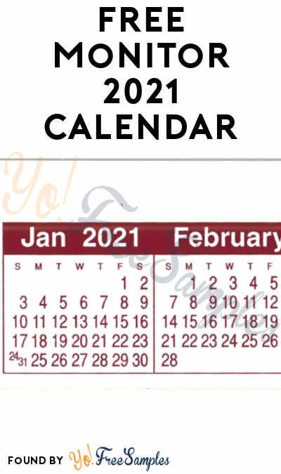 FREE Monitor 2021 Calendar