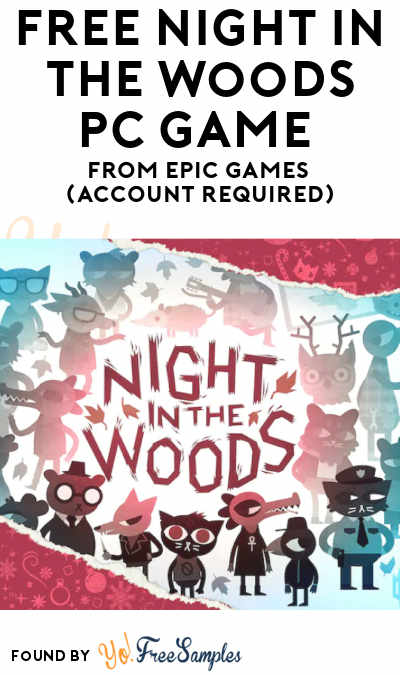 FREE Night in the Woods PC Game From Epic Games (Account Required)