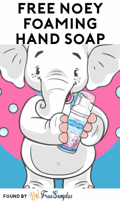 FREE Noey Foaming Hand Soap