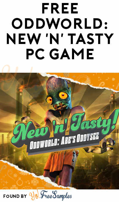 FREE Oddworld: New 'n' Tasty PC Game From Epic Games (Account Required)