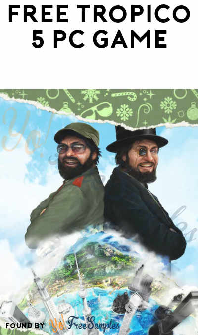 FREE Tropico 5 PC Game From Epic Games (Account Required)