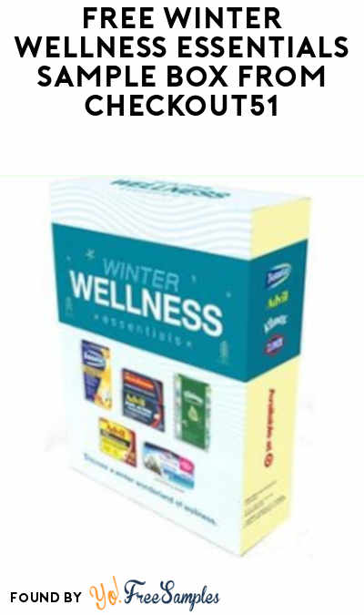 FREE Winter Wellness Essentials Sample Box From Checkout51