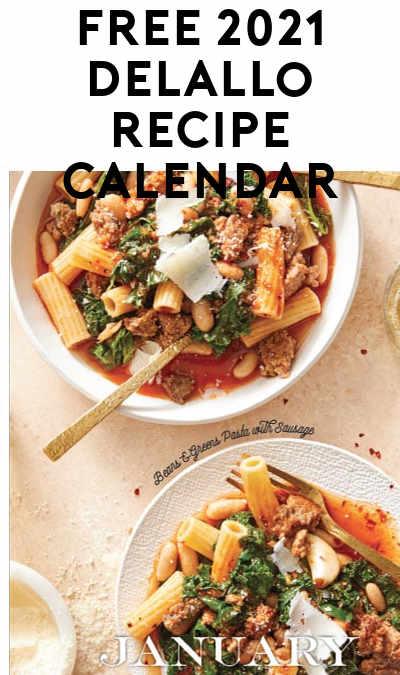 Back In Stock! FREE 2021 DeLallo Recipe Calendar
