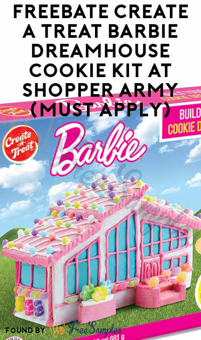 FREEBATE Create A Treat Barbie Dreamhouse Cookie Kit At Shopper Army (Must Apply)