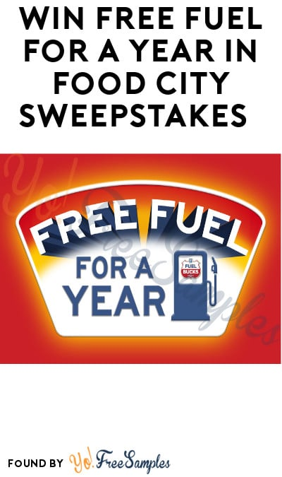 Enter Daily: Win FREE Fuel for A Year in Food City Sweepstakes (Select States Only)