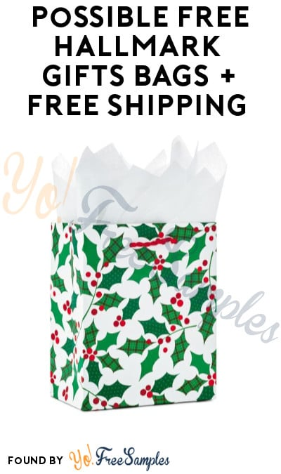 Possible FREE Hallmark Gifts Bags + Free Shipping (Crown Rewards Members Only)