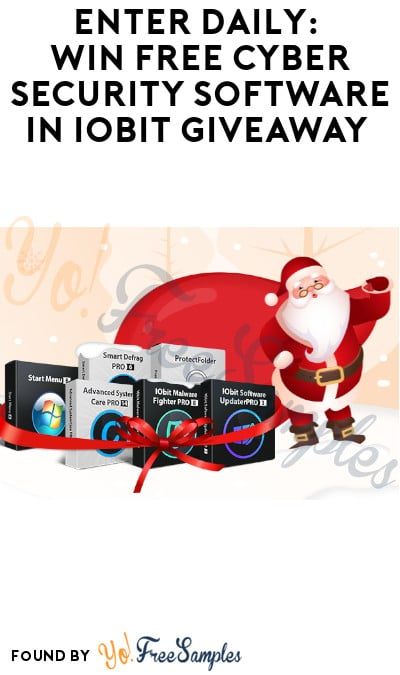 Enter Daily: Win FREE Cyber Security Software in IObit Giveaway