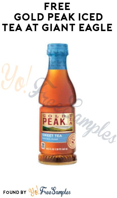 FREE Gold Peak Iced Tea at Giant Eagle (Account/ Coupon Required)