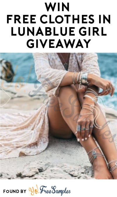 Win FREE Clothes in Lunablue Girl Giveaway (Instagram Required)