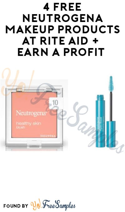 4 FREE Neutrogena Makeup Products at Rite Aid + Earn A Profit (Account, Ibotta & Rebate Required)