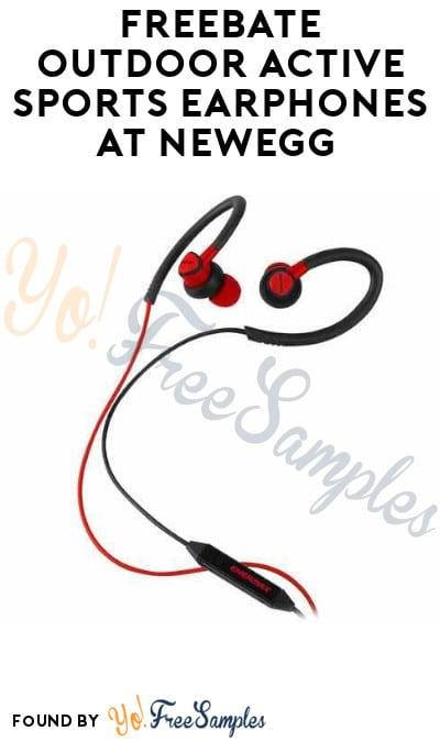 FREEBATE Outdoor Active Sports Earphones at NewEgg (Mail-In Rebate)