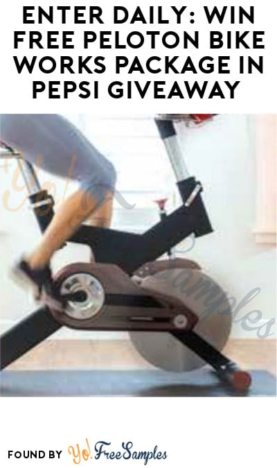 Enter Daily: Win FREE Peloton Bike Works Package in Pepsi Giveaway (Select States Only)