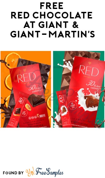FREE Red Chocolate at Giant & Giant-Martin's (Coupon Required)