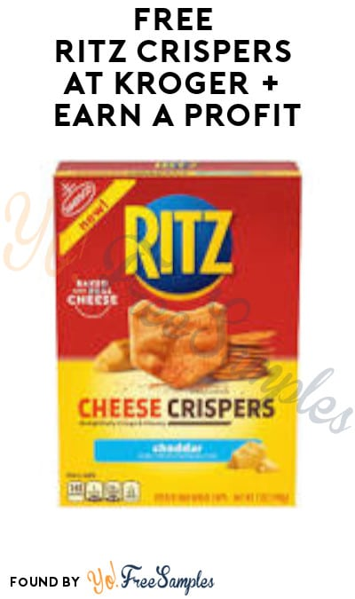 FREE Ritz Crispers at Kroger + Earn A Profit (Account/ Coupon & Ibotta Required)