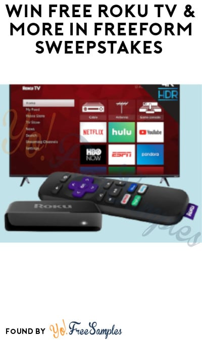 Enter Daily: Win FREE Roku TV & More in Freeform Sweepstakes