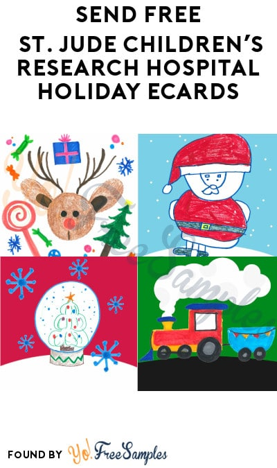 Send FREE St. Jude Children's Research Hospital Holiday eCards