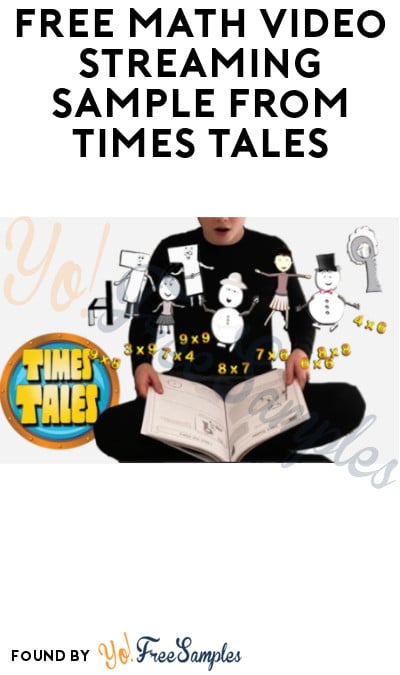 FREE Math Video Streaming Sample from Times Tales