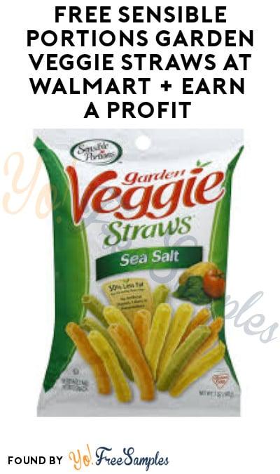 FREE Sensible Portions Garden Veggie Straws at Walmart + Earn A Profit (Ibotta Required)