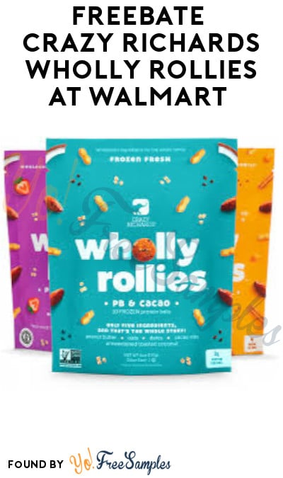 FREEBATE Crazy Richards Wholly Rollies at Walmart (Ibotta Required)