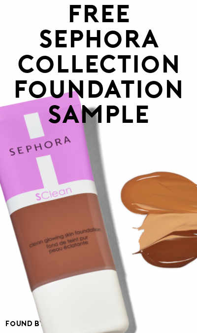 FREE Sephora Collection Foundation Sample (Instagram Required)