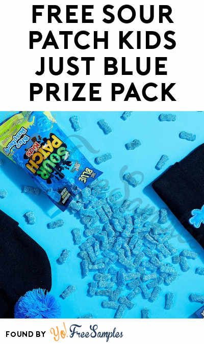 FREE SOUR PATCH KIDS Just Blue Prize Pack (Twitter Required & Select Areas)