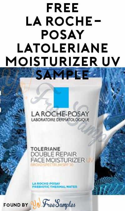 FREE La Roche-Posay LaToleriane Moisturizer UV Sample