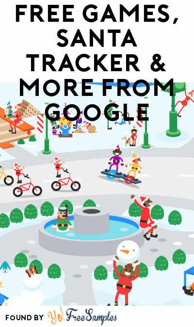 FREE Games, Santa Tracker & More From Google
