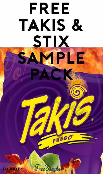 FREE Takis & Stix Sample Pack