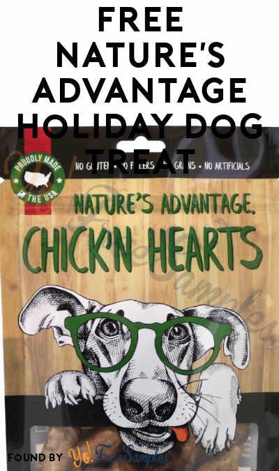 FREE Nature's Advantage Holiday Dog Treat