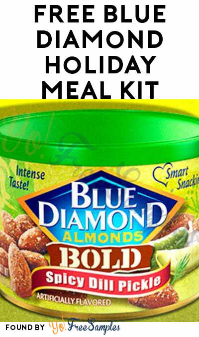 FREE Blue Diamond Holiday Meal Kit (Twitter & Select areas Only)
